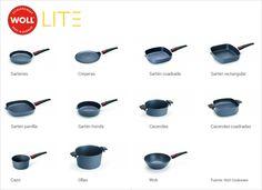 Así es la gama de sartenes y utensilios Woll Diamond Lite http://www.lecuine.com/blog/sartenes-woll-diamond-lite/