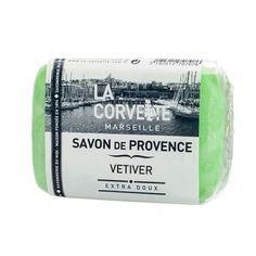 Jabón de la Provenza. Aroma Vetiver. Aceites vegetales. Sin parabenos. #cosméticanatural #jabonnatural #jabonprovenza #lacorvette