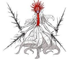 """ポテトルス on Twitter: """"ひゅ… """" Monster Concept Art, Fantasy Monster, Monster Art, Creature Concept Art, Creature Design, Beast Creature, Monster Design, Dark Fantasy Art, Character Design Inspiration"""