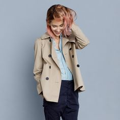 It ain't mean a thing if you don't have the swing trench from @Everlane. #LoveSpring