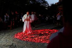 Nestinarstvo (Dancing Fires), Bulgarian and Greek Villages around the Black Sea, On the Feast Days of St. Helen and St. Constantine