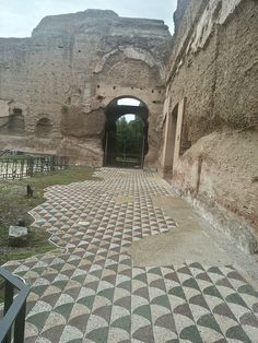 Terme di Caracalla (Baths of Caracalla) Rome