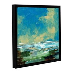 Shop for Stuart Roy's ' Sea View II' Gallery Wrapped Floater-framed Canvas. Get free delivery at Overstock.com - Your Online Art Gallery Store! Get 5% in rewards with Club O!