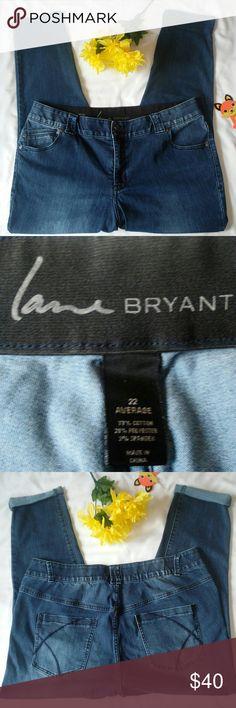be85da854bc2d Lane Bryant Skinny Tighter Tummy Tech Size 22 Lane Bryant skinny jean with  Tighter Tummy Technology
