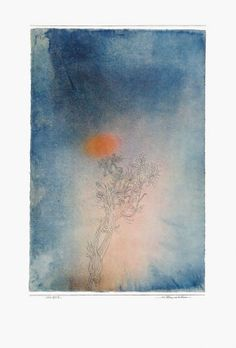 paul klee. the plant and its enemy. stunning.