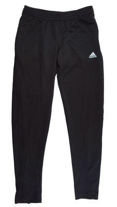 ADIDAS Climalite Size M Slim Leg Black Athletic Pants #adidas #PantsTightsLeggings