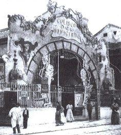 Cine. Coliseo de Noviciado. San Bernardo 59.año  1907