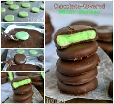 Chocolate Covered Mint Patties