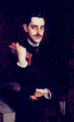 George Washington Vanderbilt by artist John Singer Sargent  by artist John Singer Sargent. He also painted the formal portrait of the family of the 9th Duke of Marlborough and Consuelo Vanderbilt, Mr. Vanderbilt's niece.