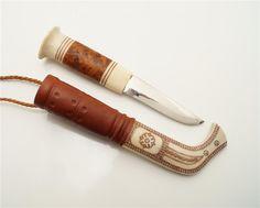 Samekniv av Ingvar Svonni Kiruna på Tradera.com - Knivar från