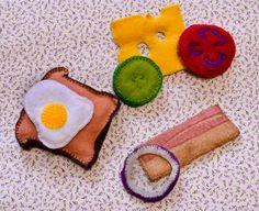 Sandwich magnet, Kitchen decorations, Felt Sandwich, Felt decor, Felt magnet…