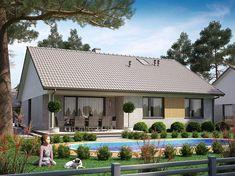 House Plans, Cabin, House Styles, Outdoor Decor, Cottages, Home Decor, Exterior Houses, Facades, Plants