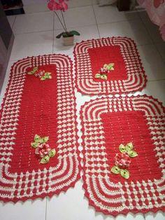 No tutorial. Tres tamaños de alfombras.