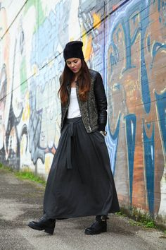 Skirt Outfits, Fall Outfits, Casual Outfits, Modest Fashion, Girl Fashion, Womens Fashion, Fashion Trends, Casual Chic, Mein Style