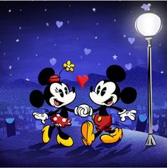 Mickey & Minnie from the Mickey Mouse series