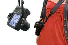Camera Strap Buddy - Converts the way you wear your camera strap into a comfy sling style. ($15.00, http://photojojo.com/store)