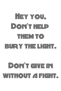 Hey you- Pink Floyd