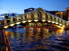 Ornate bridge (Jun 2010) - Melaka