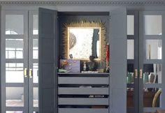Poppytalk: 20 Best IKEA Hacks of 2013 11. Domino Does a PAX Hack Jenny Komenda, Domino's DIY expert transforms a PAX wardrobe and vanity. Get the instructions here.