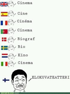 "Machine Gun Language - Funny memes that ""GET IT"" and want you to too. Get the latest funniest memes and keep up what is going on in the meme-o-sphere. Funny Memes, Hilarious, Jokes, Planet Map, Learn Finnish, Finnish Words, Finnish Language, Internet Memes, History Memes"