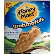 Honey Maid Grahamfuls Whole Grain Filled Cracker - S'Mores - 7 Ounces, 8 Count Ww Recipes, Gourmet Recipes, Snack Recipes, Chocolate Filling, Chocolate Peanut Butter, Maltesers Chocolate, Honey Maid Graham Crackers, Whole Grain Wheat, Weight Watchers Snacks