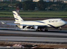 Aviation Photo Boeing - El Al Israel Airlines 747 Airplane, Airplane Fighter, All Airlines, Boeing 747 400, Gas Turbine, Airbus A380, Metal Birds, Civil Aviation, Commercial Aircraft