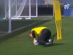 Training of Iker Casillas - YouTube