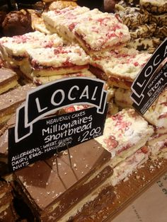 Diary 262: http://alicewonderland2.blogspot.co.uk/2014/11/diary-262-blooming-adorable-happiness.html hung out at whole foods:))) to devour these millionaires. #wholefoods #london #millionairesshortbread #shortbread #cake #cookie #organic #bakery