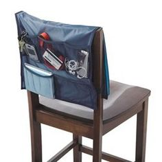 Navy Comfort Chair Organizer - Dorm study accessory supplies for college college products dorm study necessities dorm study stuff on Wanelo College Dorm Organization, College Dorm Rooms, Pantry Organization, Dorm Room Chairs, Wooden Office Chair, Office Chairs, College Necessities, College Supplies, School Supplies