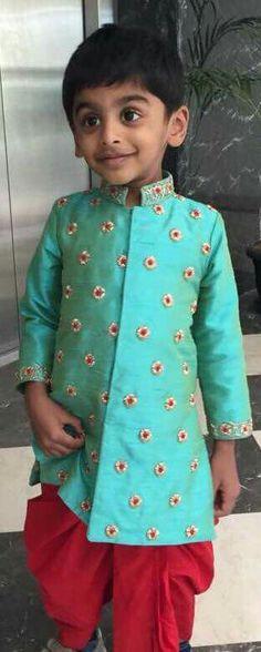 Baby Boy Dress, Toddler Dress, Baby Boy Outfits, Kids Outfits, Kids Indian Wear, Kids Ethnic Wear, Kids Dress Collection, Kids Kurta, Kids Wear Boys