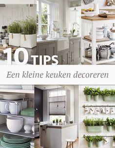 Wonen, Maken & Leven: 10 tips - een kleine keuken decoreren