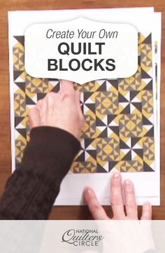 Create Your Own Quilt Blocks