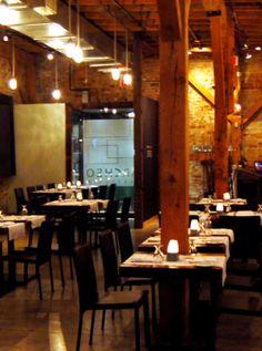 Distillery District, Archeo Restaurant Toronto ON