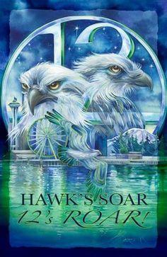 Hawks Soar - 12's Roar!
