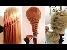 The Most Newest and Top Hairstyle Tutorials for THIS WEEK ♛ - YouTube