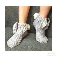 #pupusukat #bunnysocks #inspiration #knitting #knittedsocks