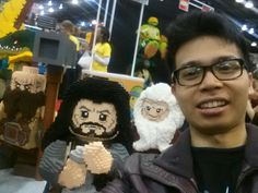 A selfie with my bros from Erebor.