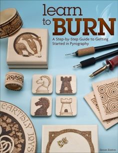 Try pyrography! Get in on the fun of writing with fire with 50 patterns and 14 step-by-step projects.
