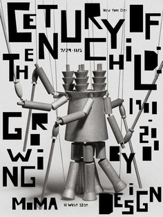 MoMA Exhibition Poster Series by Rachel Ake