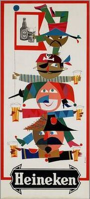 Heineken (1960s) #Vintage #ads