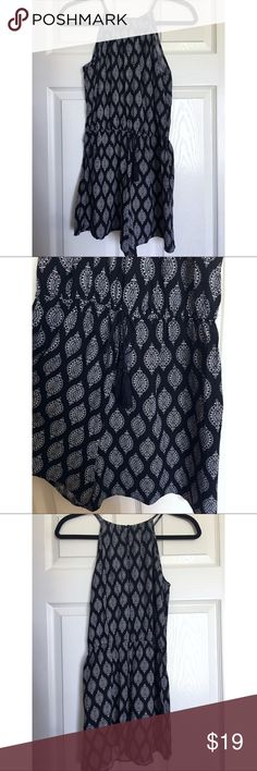 0533821f9ff Mossimo High Neck Romber TARGET Mossimo black and white romper. Worn once