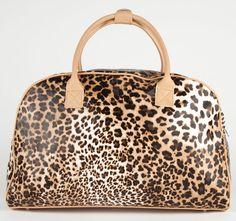 Leopard Duffle Bag