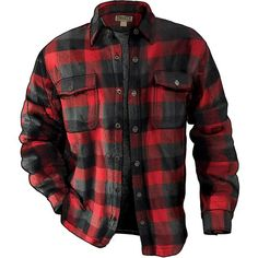 Men's Flapjack Flannel Shirt Jac is part of Shirt jac - Fleecelined Flannel Shirt Jac is built for real work a thick, warm jacket that's easy to throw off when the action heats up Only at Duluth Trading! Fleece Lined Flannel Shirt, Flannel Jacket, Flannel Outfits, Mens Flannel Shirt, Shirt Jacket, Cheap Flannel Shirts, Mens Clothing Uk, Mens Work Jacket, Lumberjack Style