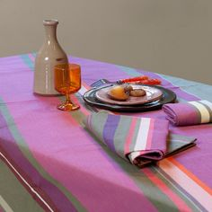 Nappe Picnic Blanket, Outdoor Blanket, Decoration Table, Artisanal, A Table, Dining, Canvas, How To Make, France