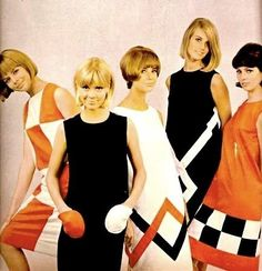 60s Fashion...I really loved the 60's fashion. I graduated in '67 and this style was so cool to me. :-)