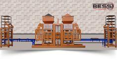 Bess Hollow Block Machine,Paving Block Machine And Mould Models - Prs 802 Automatic Paving Block Machine