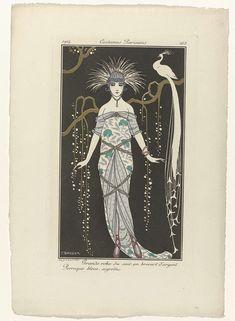 Journal des Dames et des Modes, Costumes Parisiens, 1914, No. 168 : Grande robe…
