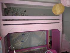 loft bed painted! Diy Bed, Loft, Bedroom, Furniture, Home Decor, Decoration Home, Room Decor, Lofts, Bedrooms