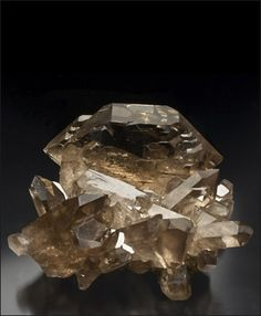 Smoky Quartz Gwindel Cavradi Gorge Switzerland