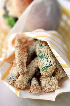 Baked Zucchini Fries | The Sweetest Occaision